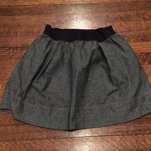 Crewcuts chambray skirt